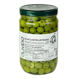 [121641] Castelvetrano Green Pitted Olives 1.68 kg Oliveio