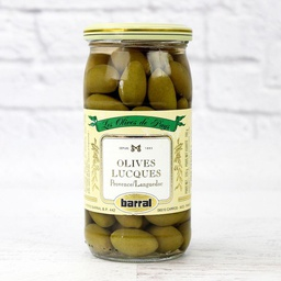 [121656] Olives Vertes Lucques 370 ml Barral