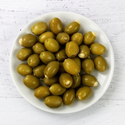 [123150] Garlic Stuffed Olives in Vermouth 1.89 L Royal Command