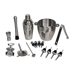 [ARTG-5002] Wine & Cocktail Bar Set 16 Piece 1 pc Artigee