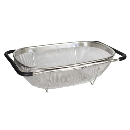 [ARTG-6008] Steel Over Sink Strainer Basket 1 pc Artigee