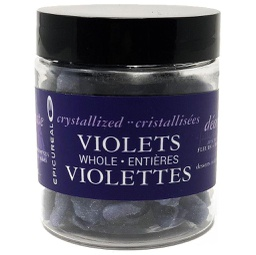 [150811] Crystalized Violet FLOWERS Whole 50 g Epicureal