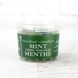 [150816] Cryst Mint Leaves Green - 50 g Epicureal