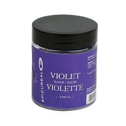 [150906] Violet Flavoured Sugar 100 g Epicureal