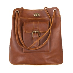 [CAN1002] Brigitte - Leather Vintage Purse 1 pc Cananu