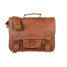 [CAN1004] Intella - Leather Messenger Bag 1 pc Cananu