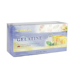 [152666] Gelatine Gold Leaf BOX 1 kg Ewald
