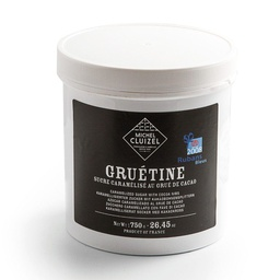 [170268] Gruetine Nougatine and Grue 750 g Michel Cluizel