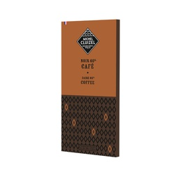 [170526] Dark Choc 60% Bar Brazilian Coffee 70 g Michel Cluizel
