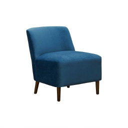 [FRE1125] Freo Lounge Chair Blue 1 pc Wudern