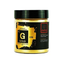 [171380] Metallic Powder Gold 10 g Choctura