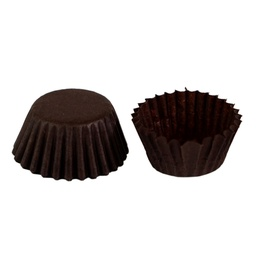 [ARTG-8353] Brown Candy Cups 4SP 1000 pc Royal Command