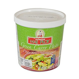 [181837] Green Curry Paste Thai 400 g Mae Ploy