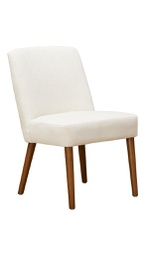 [MID9004] Mido Elegant Dining Chair White 1 pc Wudern