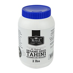 [182066] Tahini Paste 2 lbs Royal Command