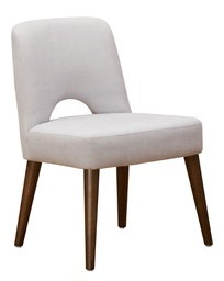[MOD7412] Modena Wide Dining Chair Grey - 1 pc Wudern