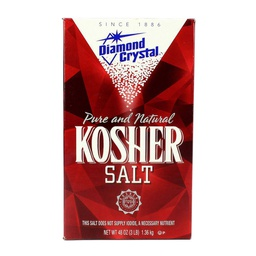 [183635] Kosher Salt (Coarse) 3 lbs Diamond Crystal