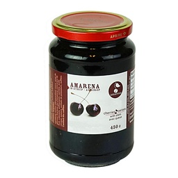 [150371] Amarena Cherries with Stem Jar 450 g D'Amarena
